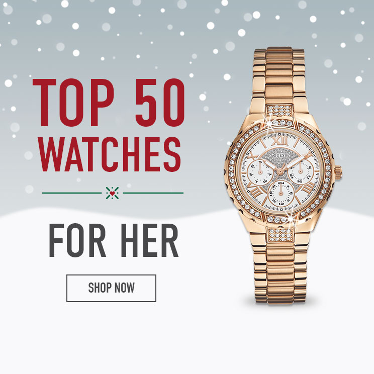 Shop our Top 50 Watches for Her
