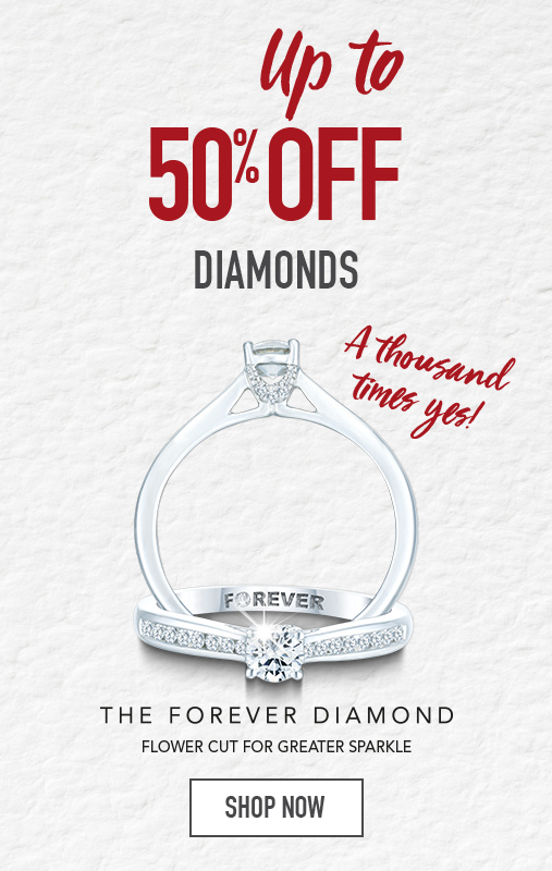 50% off diamonds