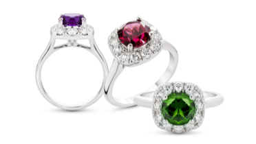 Engagement Ring Style Guide. Coloured Engagement Rings
