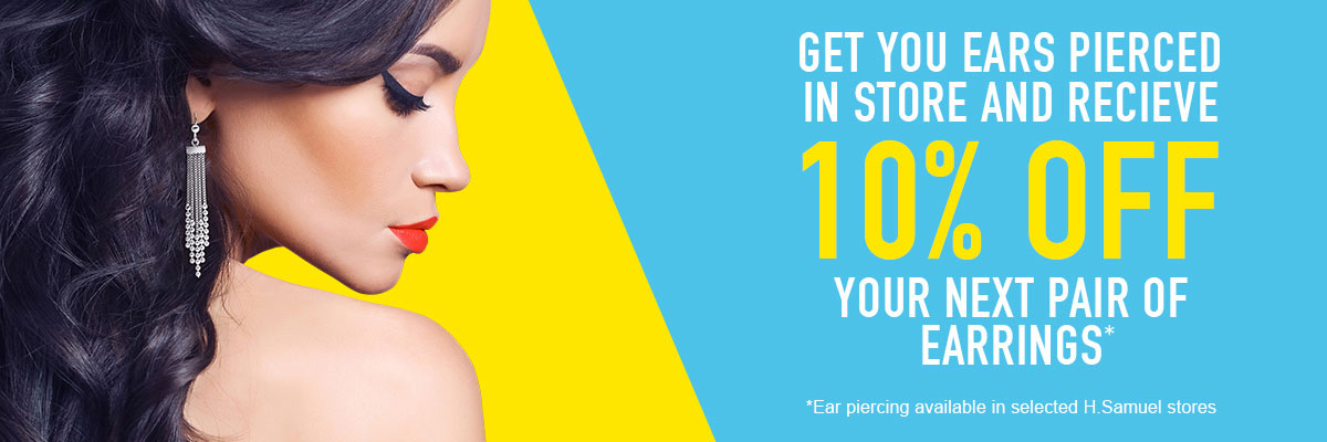 10% off your next pair of earrings - Shop Now