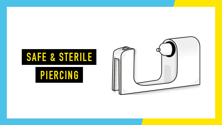Safe and sterile piercing - Discover More