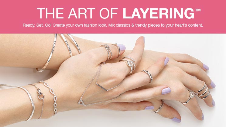 Jewellery Creation- Layering- H.Samuel