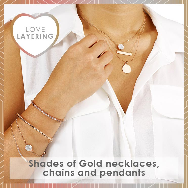 Love Layering - Shades of Gold Jewellery