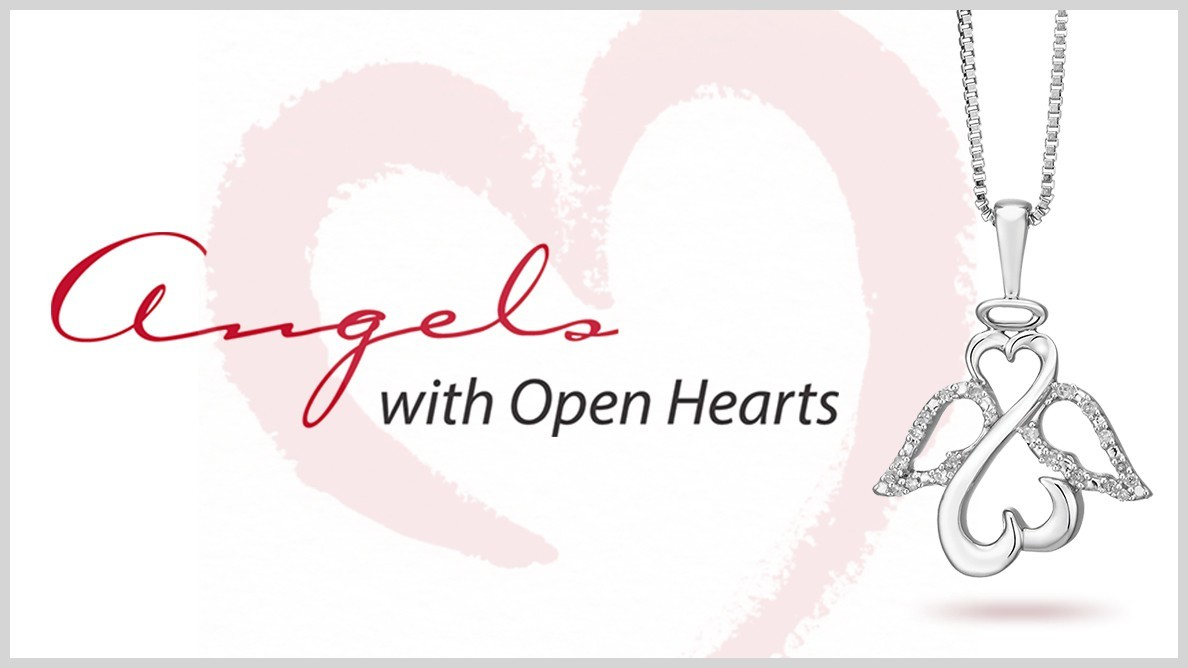 Open Hearts Angels Diamond Jewellery by Jane Seymour