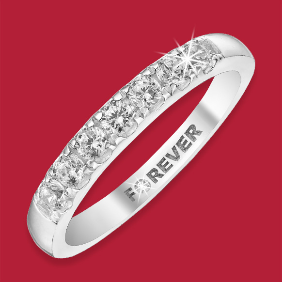 Diamond Eternity Rings from The Forever Diamond