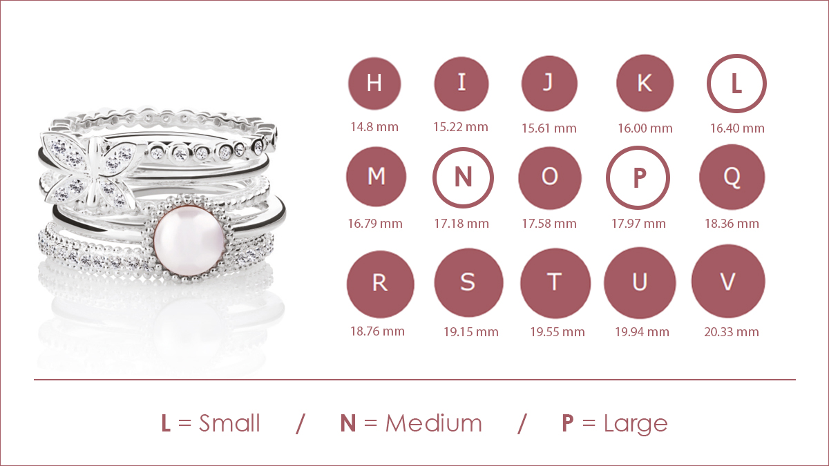 Ring Sizing for Fashion & Stacking Rings Guide