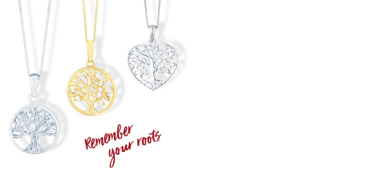 Tree of life design necklaces - Shop now