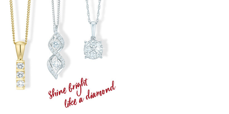 Diamond Necklaces - Shop now