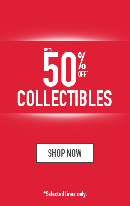 up to 50% off Collectibles - Shop now