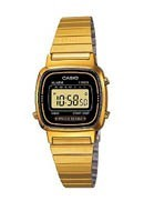 Casio Ladies' Gold Plated Bracelet Watch