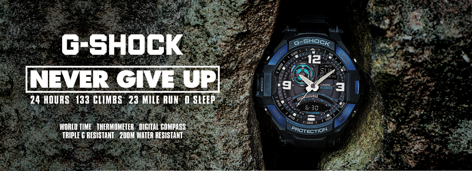 Casio G-Shock Never Give Up