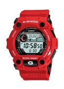 G-Shock Men's Red Rubber Strap Watch