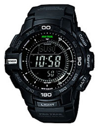 Casio ProTrek Men's Black Resin Bracelet Watch