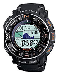 Casio Men's Protrek Black Strap Digital Watch