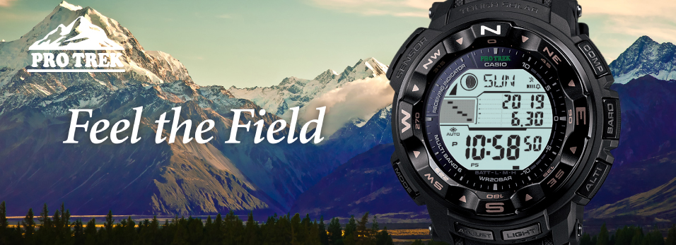 Pro Trek feel the field