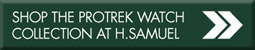 Shop the Pro Trek watch collection at H.Samuel