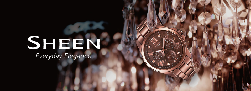 Casio Sheen Watches - Everyday Elegance