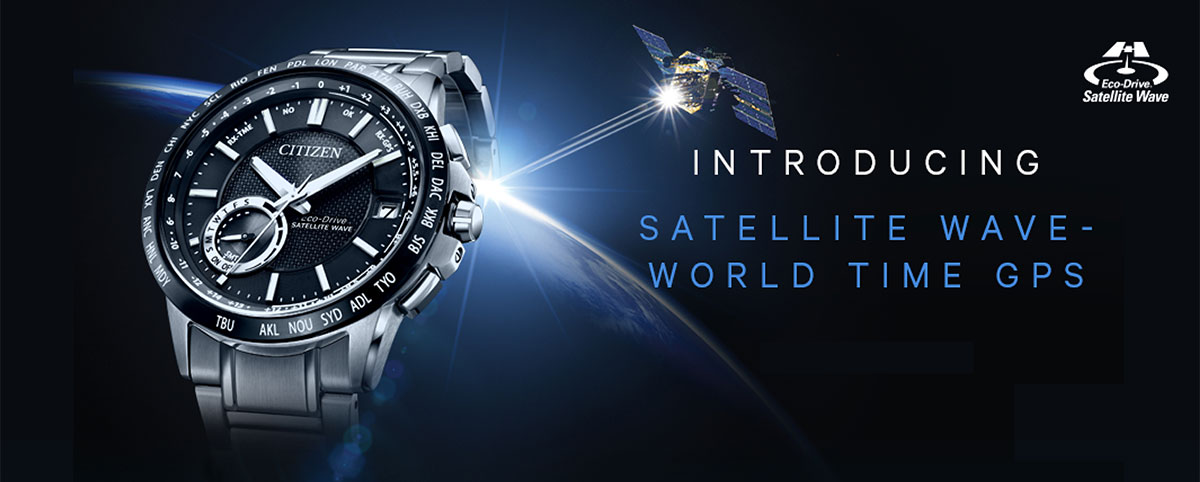 Satellite Wave - world time GPS