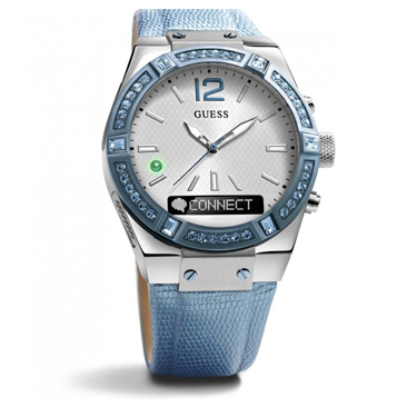 Guess Connect Blue Leather Strap - Coming Soon