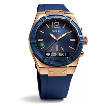 Guess Connect Blue & Rose Gold 41mm Smartwatch