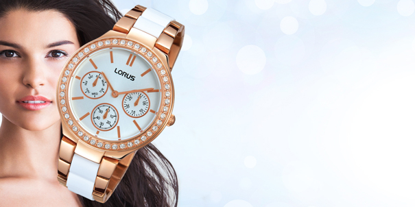 Just Sparkle Watch collection from Lorus