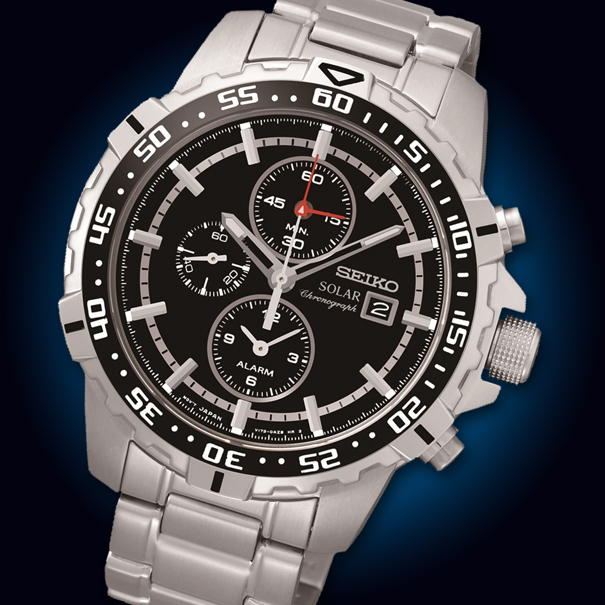 Solar Powered Chronograph Watches