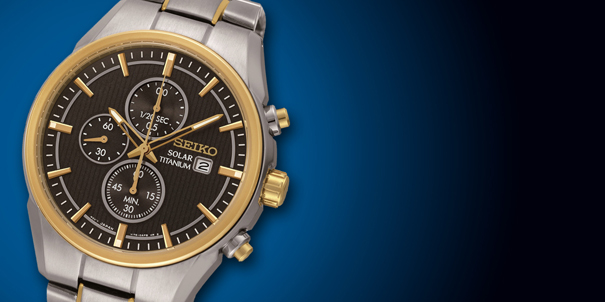 Solar Powered Watches by Seiko