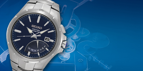 Kinetic Watches by Seiko