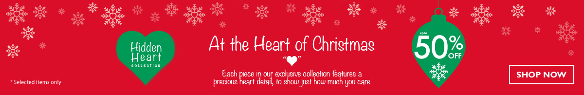 Visit the H.Samuel Christmas Shop - The Hidden Heart Collection