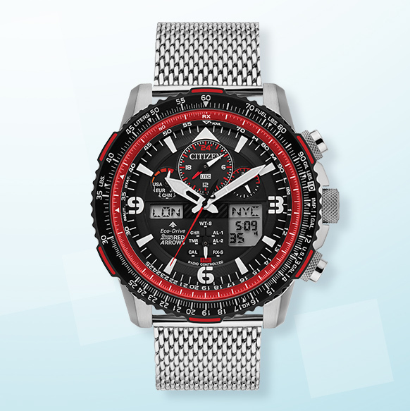 Citizen Red Arrows Promaster Skyhawk Men's Bracelet Watch - Shop Now
