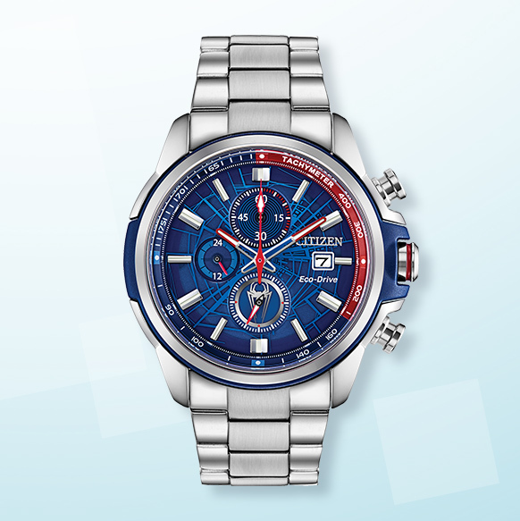Citizen Marvel Spiderman Stainless Steel Watch - Shop Now