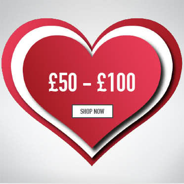 Valentines gifts for her £50-£100 - Shop Now