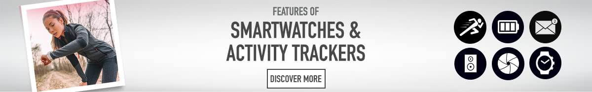 Features of Smartwatches & activity trackers - Discover more