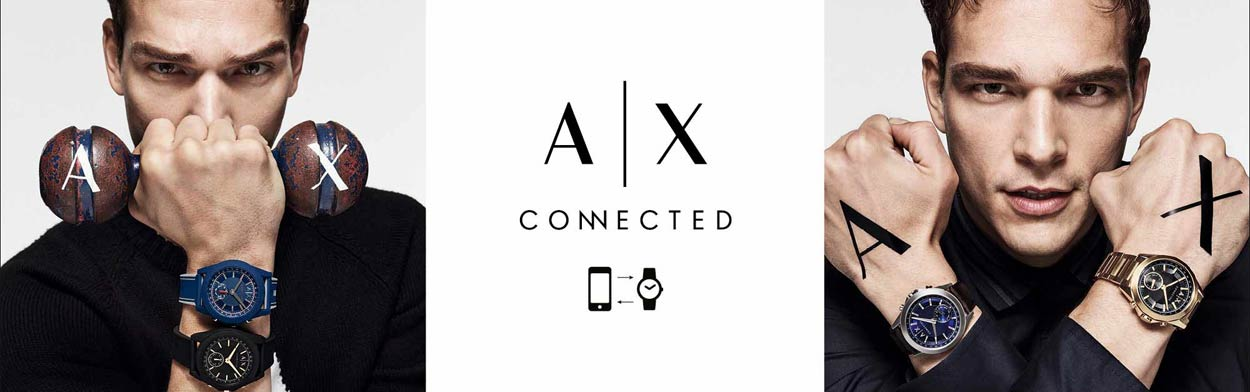 Armani Exchange Connected Smartwatches features