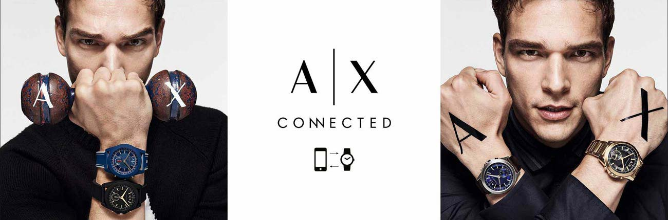 Armani Exchange Connected Smartwatches at H.samuel