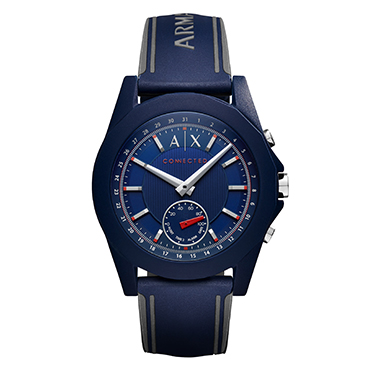 Armani Exchange Connected - Blue Silicone Smartwatch