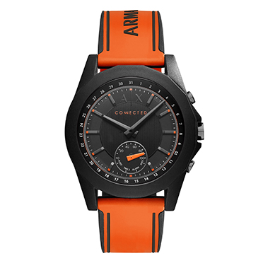 Armani Exchange Connected - Orange Silicone Smartwatch