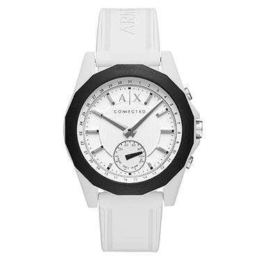 Armani Exchange Connected - White Silicone Smartwatch
