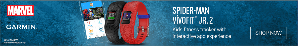 Garmin Spider-Man Vivofit JR.2 - Shop Now