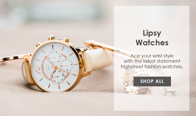 Shop All Lipsy Watches