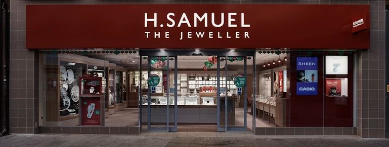 76f1178503 H.Samuel Southampton - SO15 1QE - Opening Times and Store Information